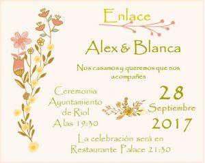 invitacion boda pick 1